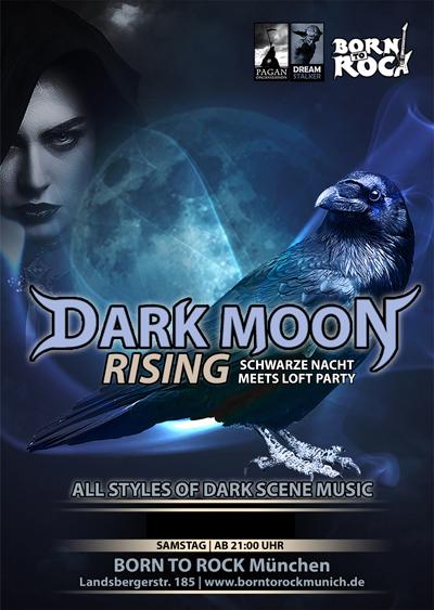 Dark Moon Rising - Schwarze Nacht meets Loft Party